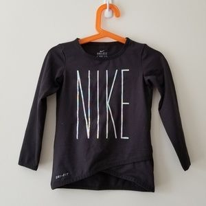 NWOT, NIKE long sleeve tee (2T)